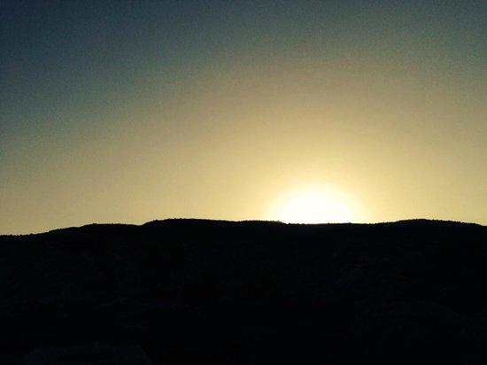 Columbia Beach Resort Pissouri: Sunsent from Room 418 balcony