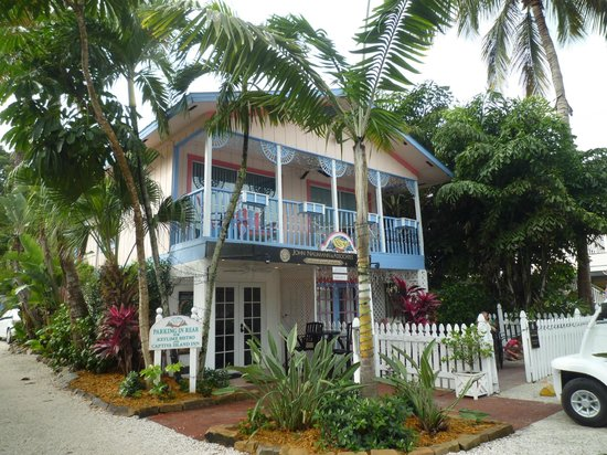 Captiva Island Inn Bed & Breakfast: Lantana suite (upstairs)