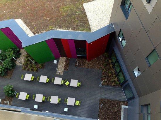 Aparthotel Adagio Access Paris Reuilly: Terrasse