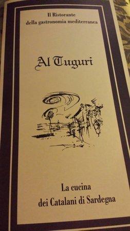 Al Tuguri : Il menù..