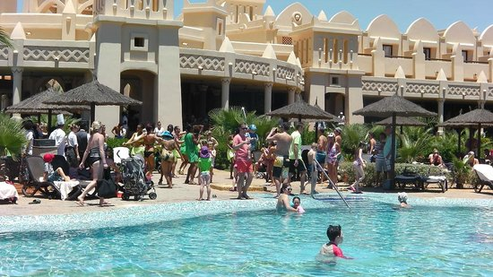 Hotel Riu Touareg : lunch time