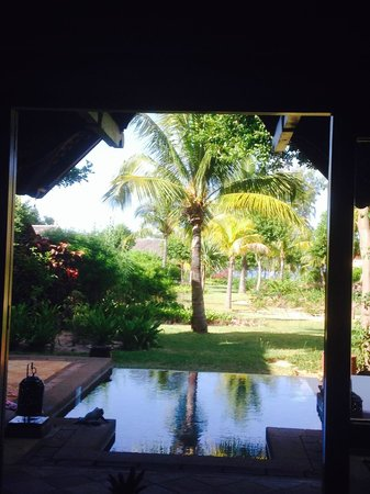 Maradiva Villas Resort and Spa: View from the bed in Room 409