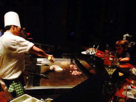 Maradiva Villas Resort and Spa: Japanese Chef cooking up a storm