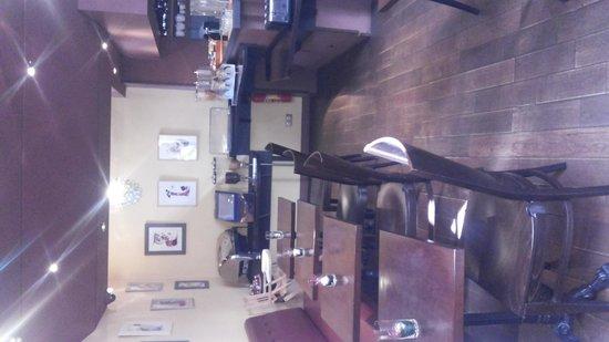 Hotel de Sevres: salão do cafe da manha