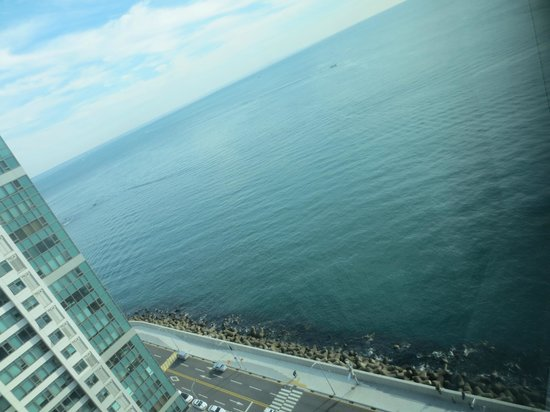 Hanwha Resort Haeundae Tivoli : View from room