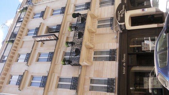 Hotel de Sevres: Fachada do Hotel