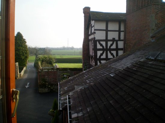 Albright Hussey Manor Hotel: View from window room 12