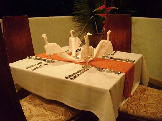 El Mirador Bar & Restaurant: cena de thanksgiving