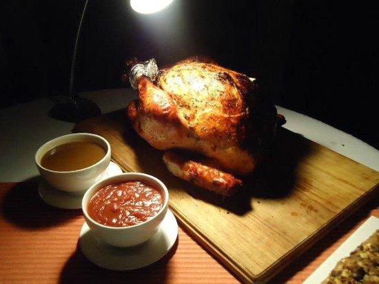 El Mirador Bar & Restaurant: Pavo para thanksgiving
