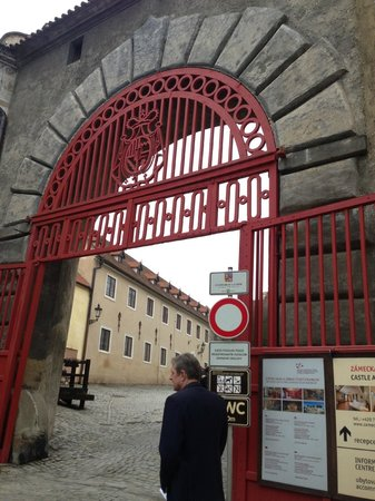 Private Prague Guide Day Tours : Gates to Eggenberg Castle