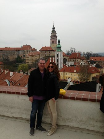 Private Prague Guide Day Tours : view of Cesky Krumlov