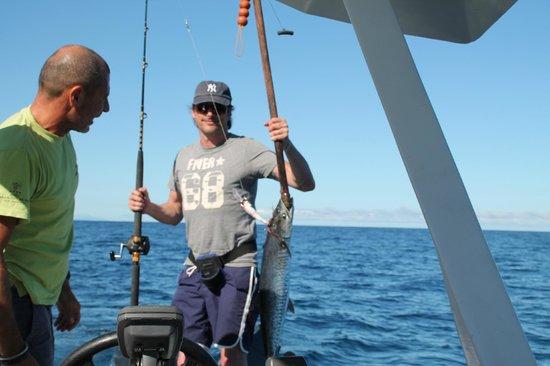 Andilana Beach Resort: io e iacopo a pesca