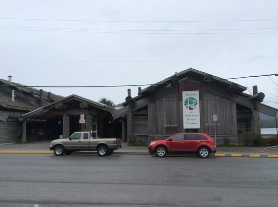 Museum of Northern British Columbia : Exterior of the Museum of Northern BC