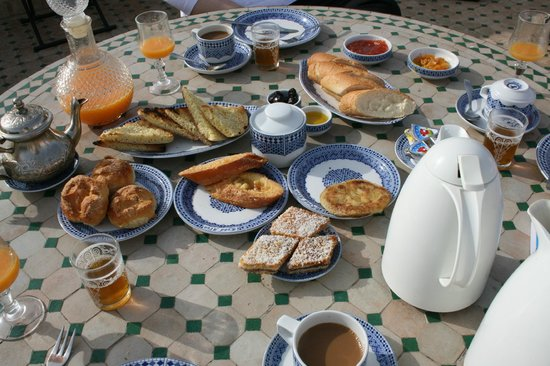 Ryad Alya : Breakfast on the Terrace