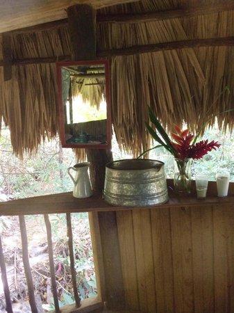 Martz Farm Treehouses and Cabanas Ltd.: In the treehouse