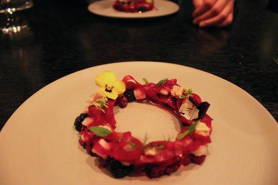 Funky Gourmet : Spring wreath