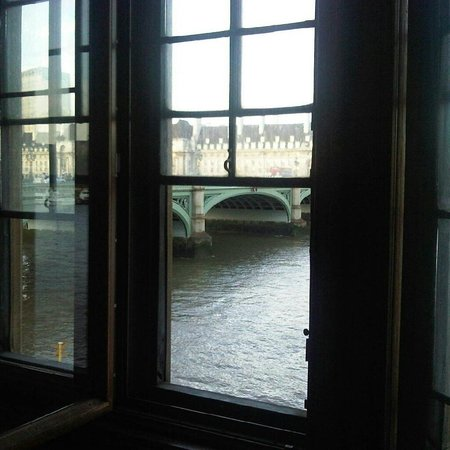 Palais de Westminster : View from the Speakers residence, a privilege.