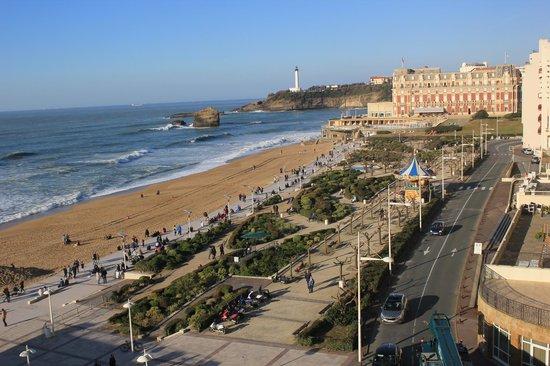 Le Windsor Grande Plage Biarritz: La vista es inmejorable!