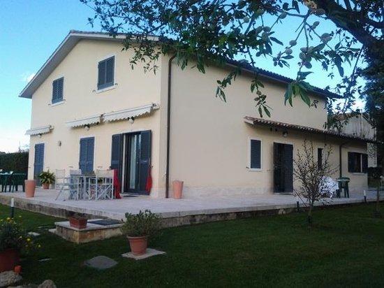 Hotel Poggio Bertino: la casa