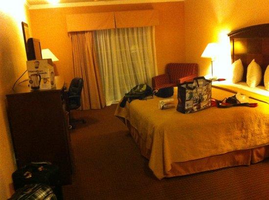Quality Inn San Simeon : good size room