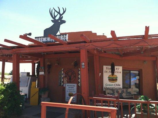 Buckhorn Tavern: A bit over the top but still warm and friendly.