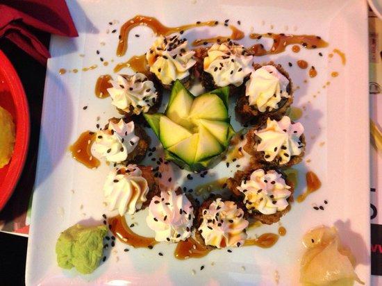 Sushiko sushi fritto con philadelphia