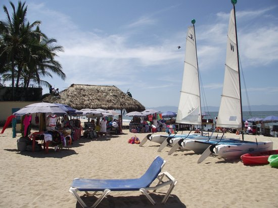 Hotel Riu Vallarta: New Vendor Hut That Went Up