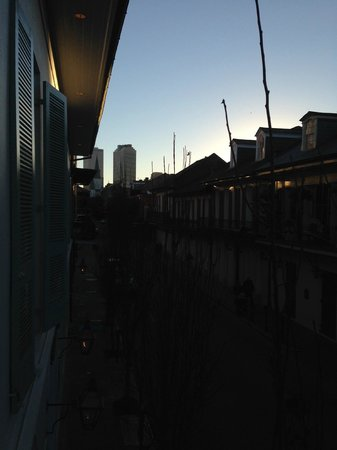 Hotel Provincial : Another view at sunset