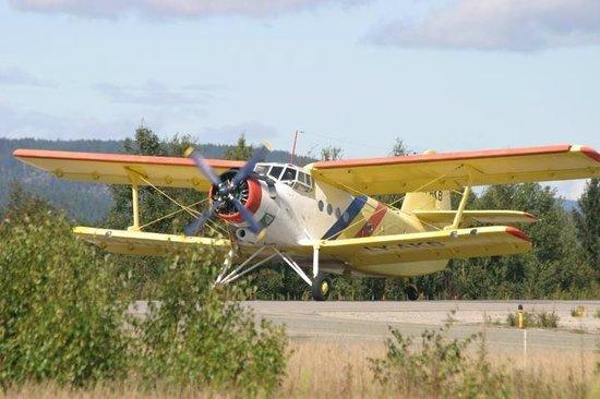 Antonov-2 at Skien airport
