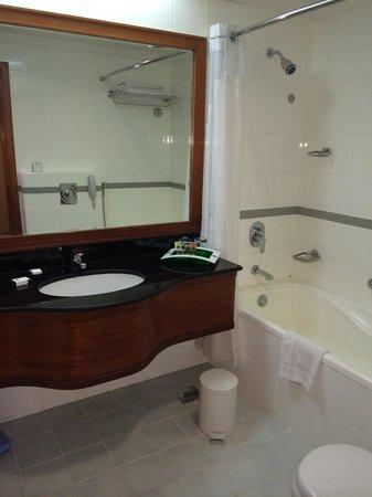 Holiday Inn Downtown Dubai : Toilet