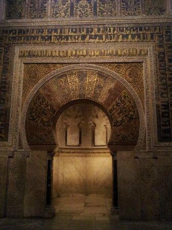 Judería: Particolare della parte islamica