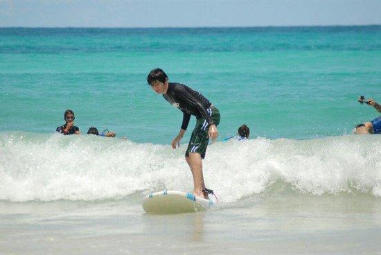 Macao Surf Camp: En menos de una hora.