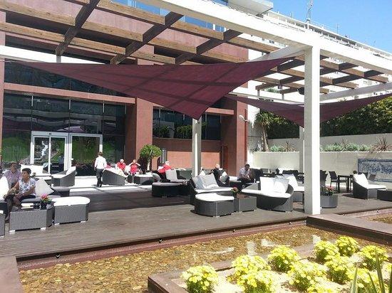 Corinthia Hotel Lisbon: Outdoor Lounge area!
