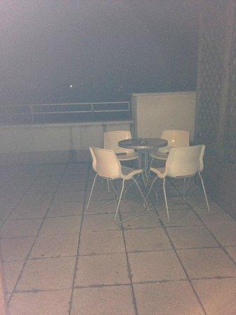 Senator Apartments Budapest: terraza