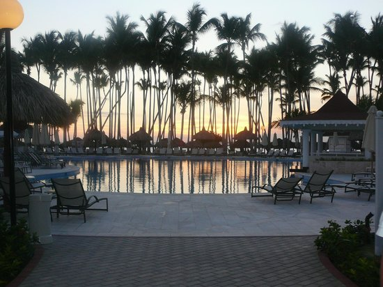 Luxury Bahia Principe Bouganville Don Pablo Collection: Sun going down over the pool