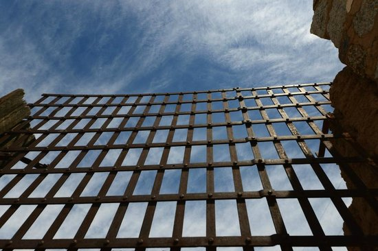 Yuma Territorial Prison State Historic Park : Looking up