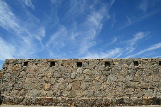 Yuma Territorial Prison State Historic Park : The Wall