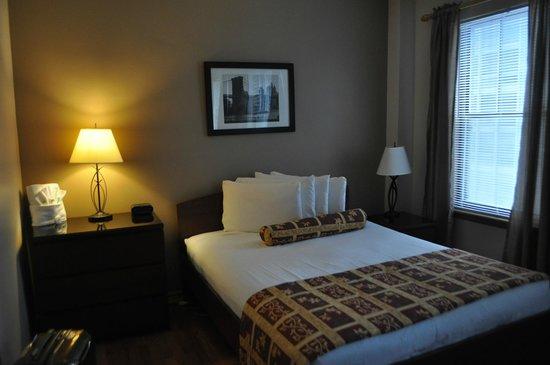Dewitt Hotel & Suites : Cama muy comoda