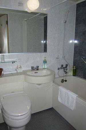 Hearton Hotel Kitaumeda: Bathroom