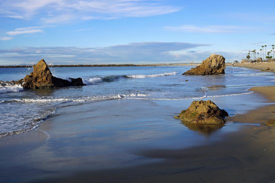 Corona Del Mar State Beach: Perfect conditions