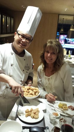 Renaissance Hong Kong Harbour View Hotel : Head Chef personally took care of us