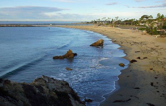 Corona Del Mar State Beach: Scenic shoreline