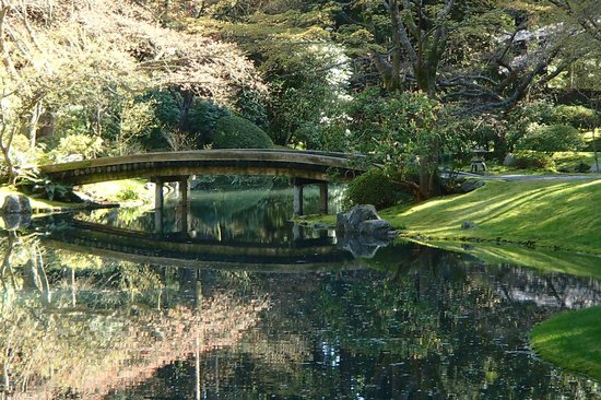 77-log bridge - Picture of Nitobe Memorial Garden, Vancouver ...
