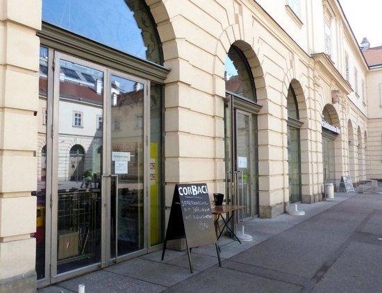 MuseumsQuartier Wien: Corbaci Cafe at Museum Quarter (2)