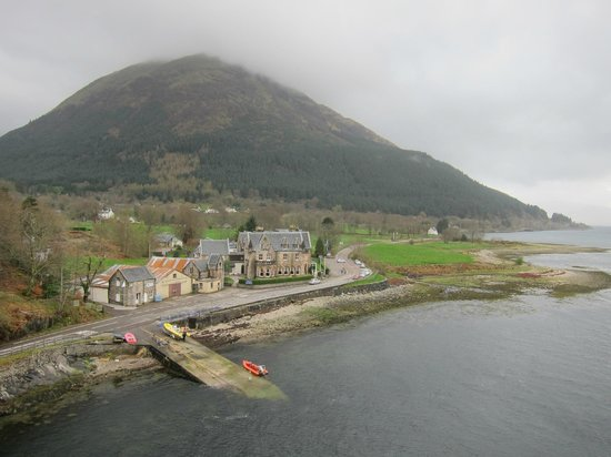 Ballachulish Hotel From The Bridge