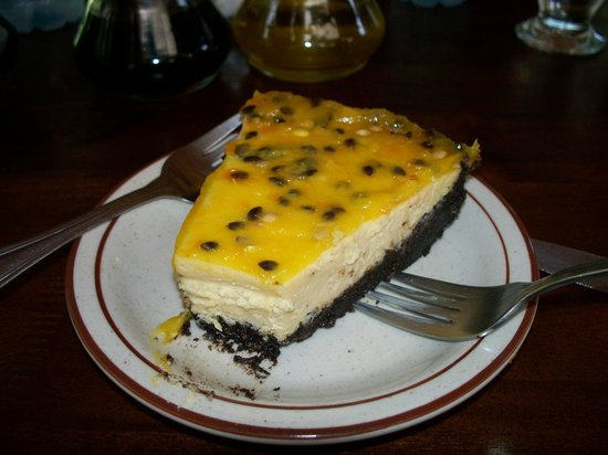 Stella's Bakery: Cheeze cake passion fruit