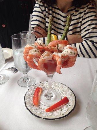 Olivier's Creole Restaurant: Cocktail des crevettes