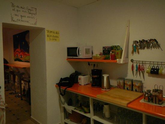 Backpacker Al-Katre: La cocina