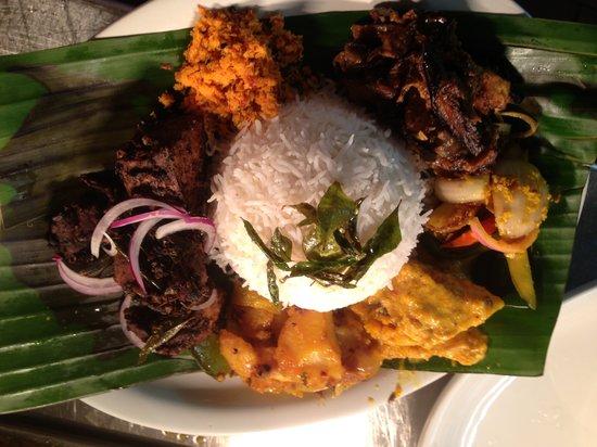 Cinnamon's Restaurant & Bar: Rice and Curry