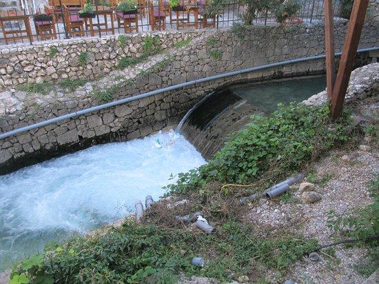 Konoba Taurus : small waterfall